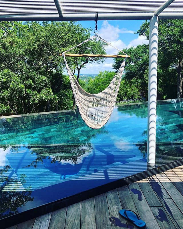 Good morning #austin #modernpools #balistyle #lavastone