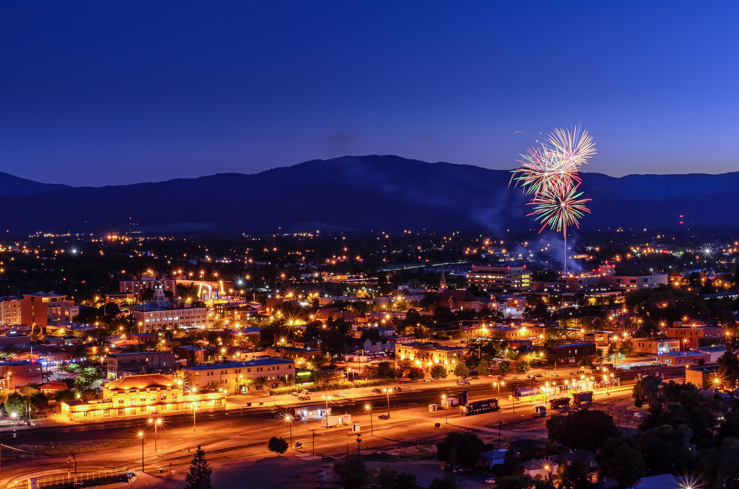 Downtown Missoula, Montana