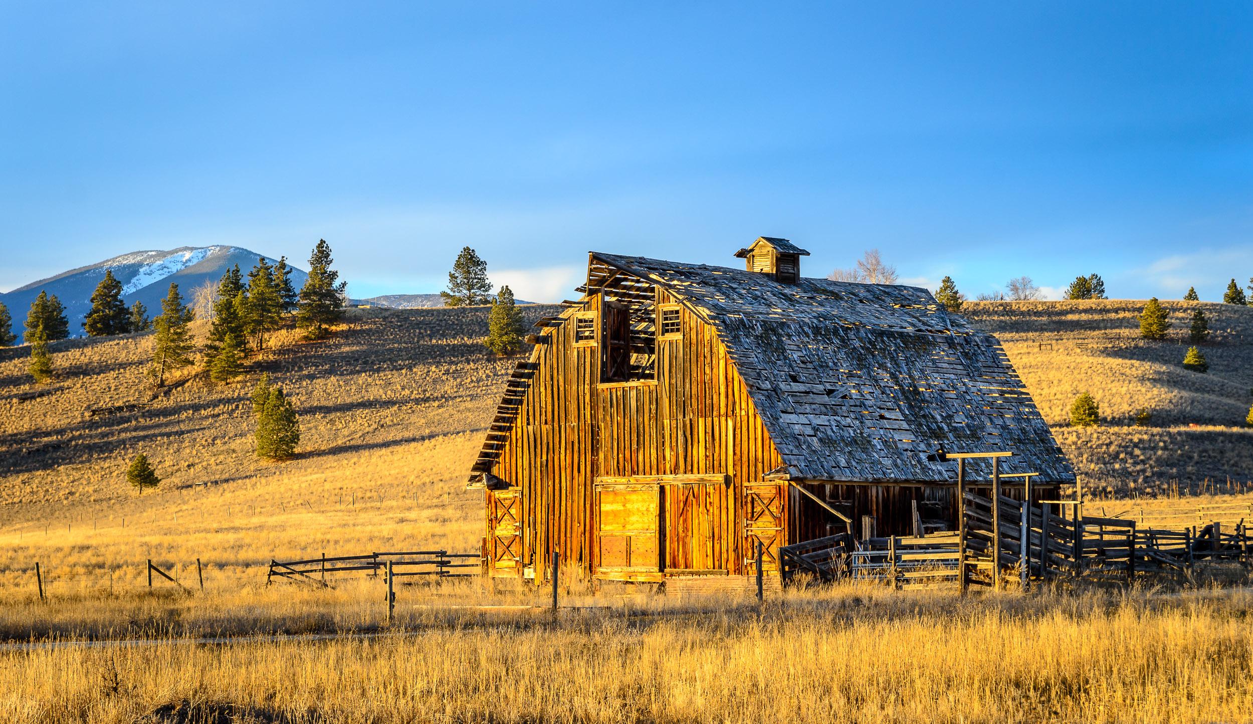 Bitterroot Valley Barn