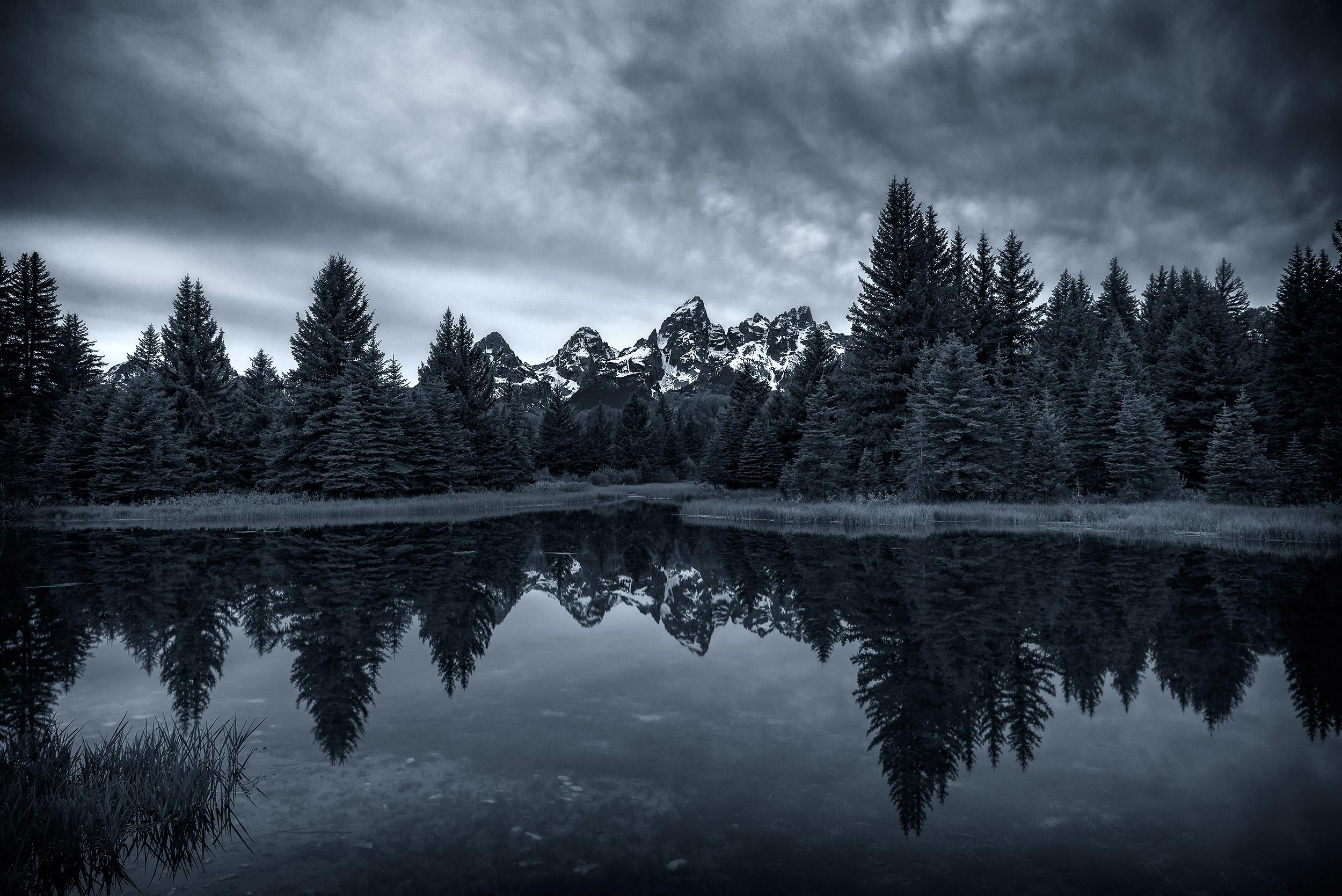 Teton Blue Hour - Grand Teton Park, Wyoming