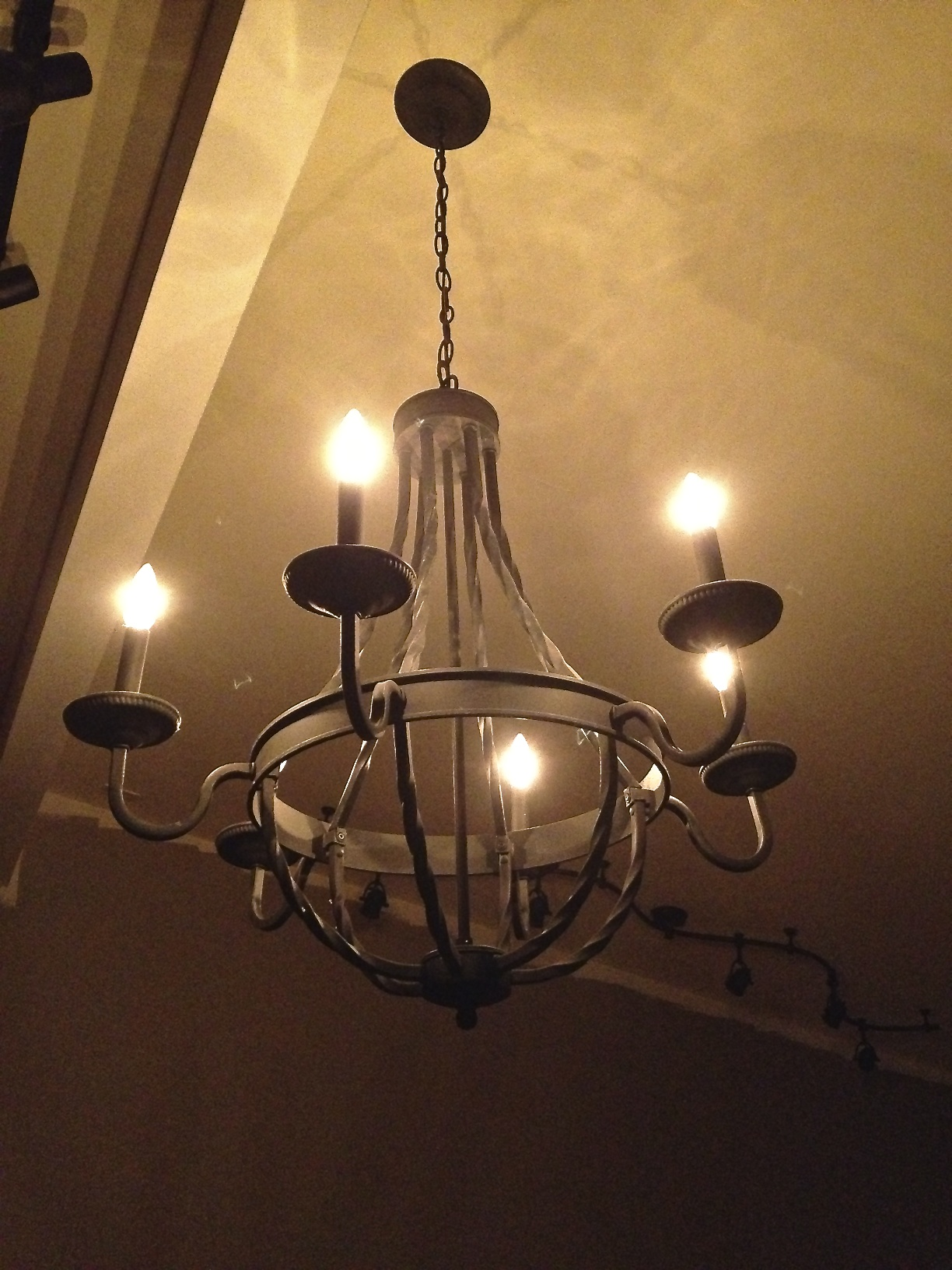 New Chandelier Install on Dimmer Switch