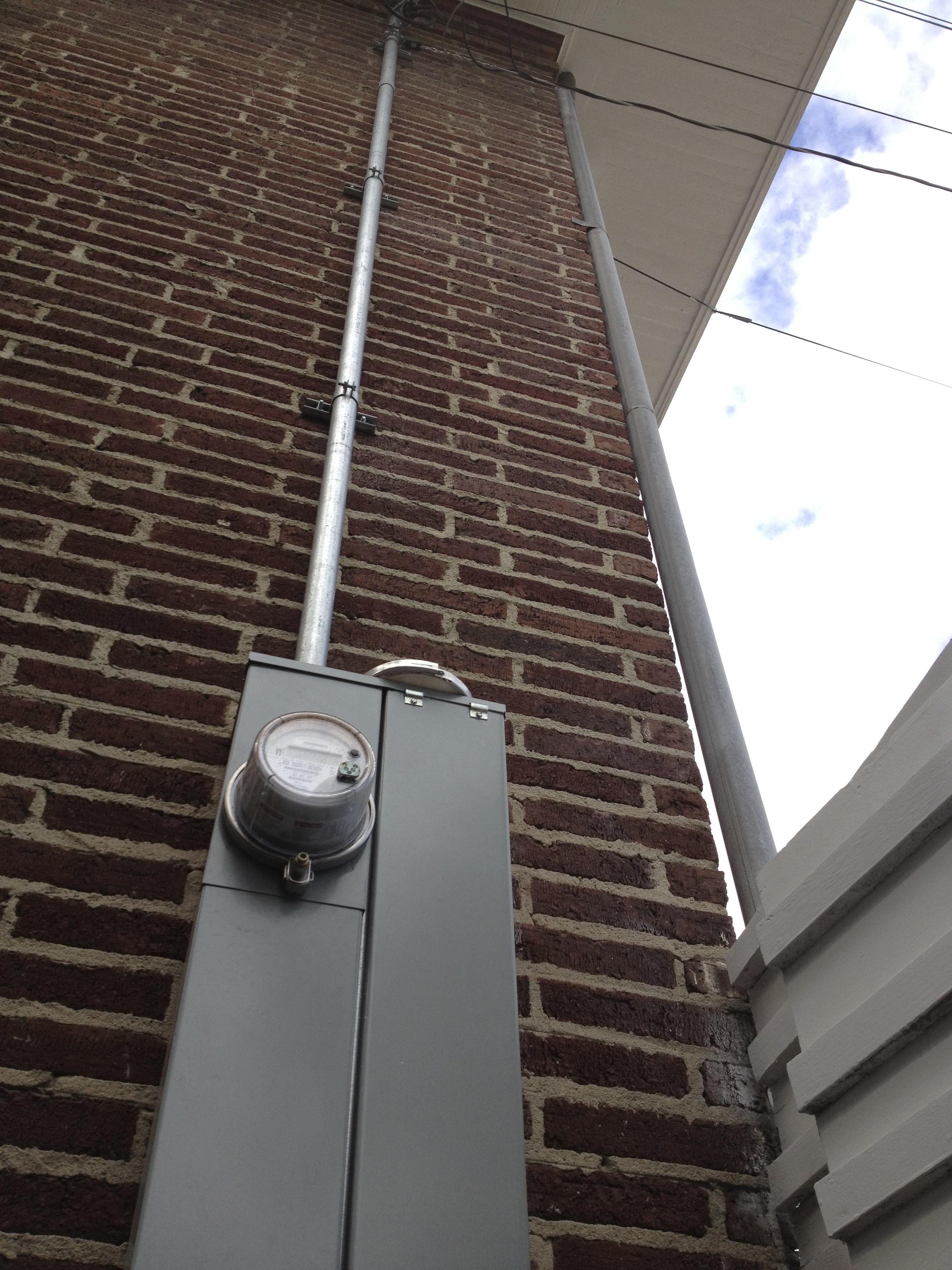 200 Amp Panel Riser/Service Connect