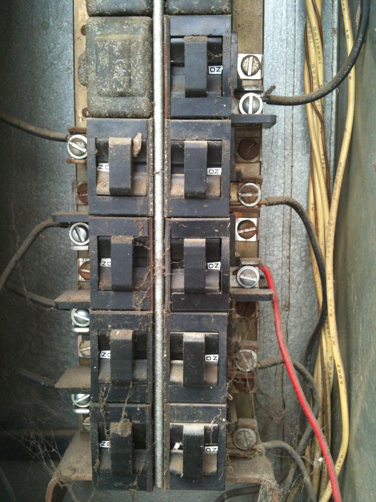Old Panel and Circuit Breaker Repair/Replace