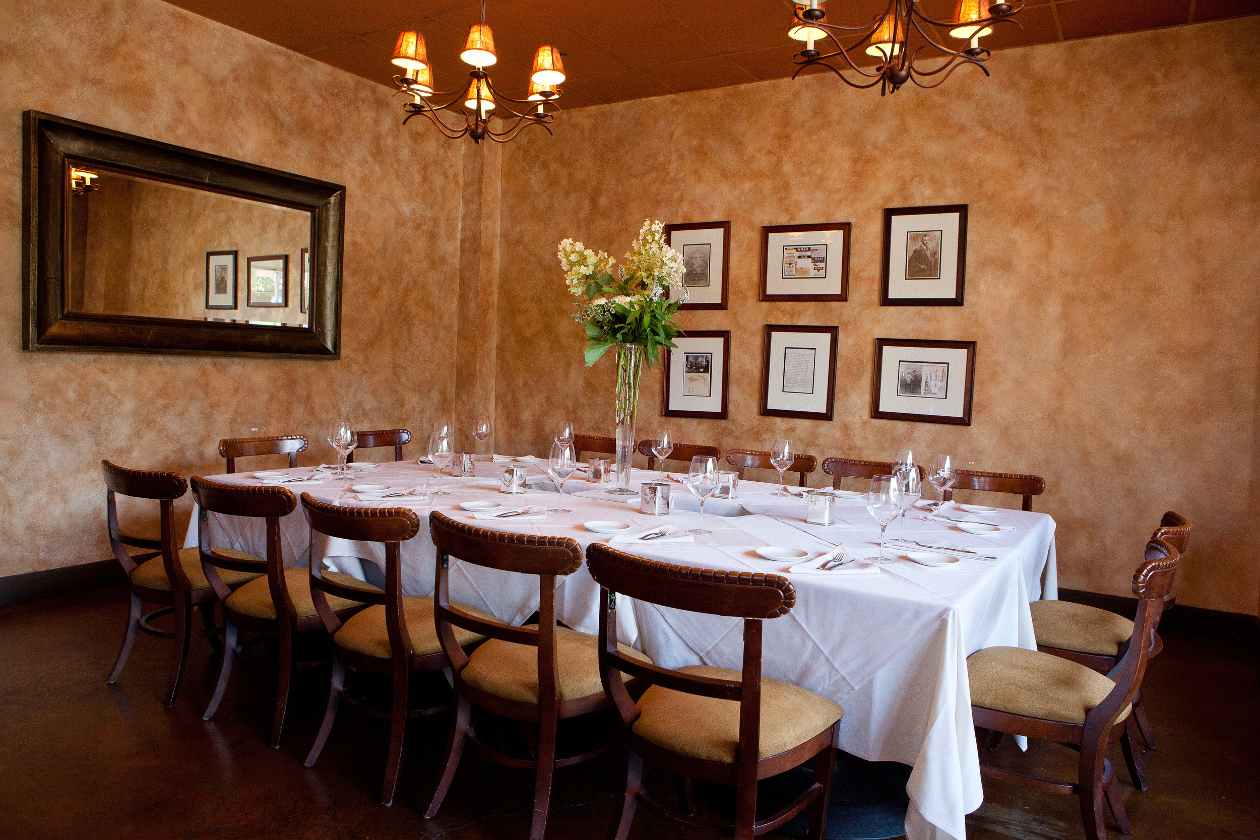 Gaja Room  - Seats up to 14