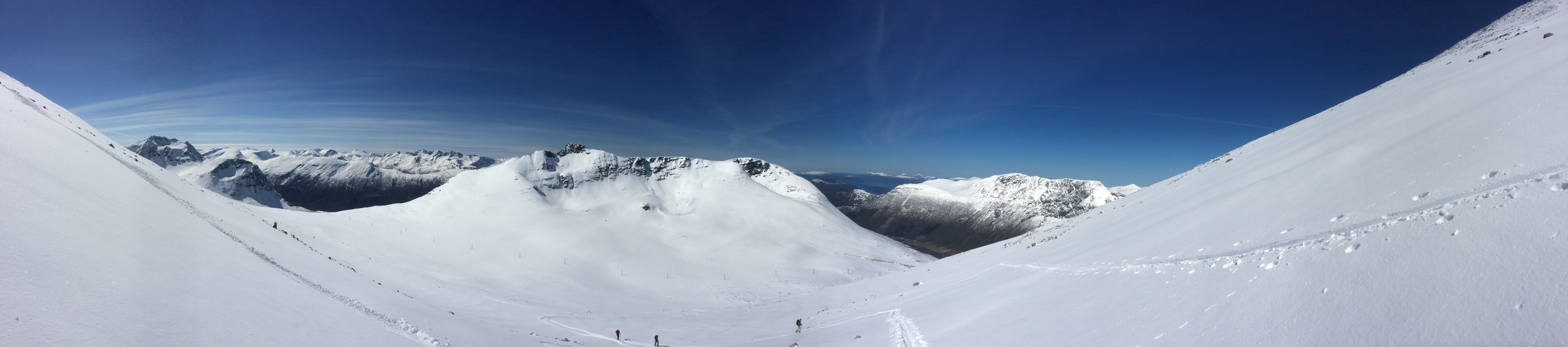 Panoramabilde fra 1000-meters bakken