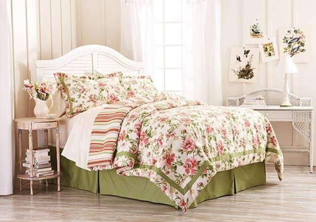 Beautiful-Cream-Green-Bedroom-Spring-Inspiration-Look-Elegant.jpg