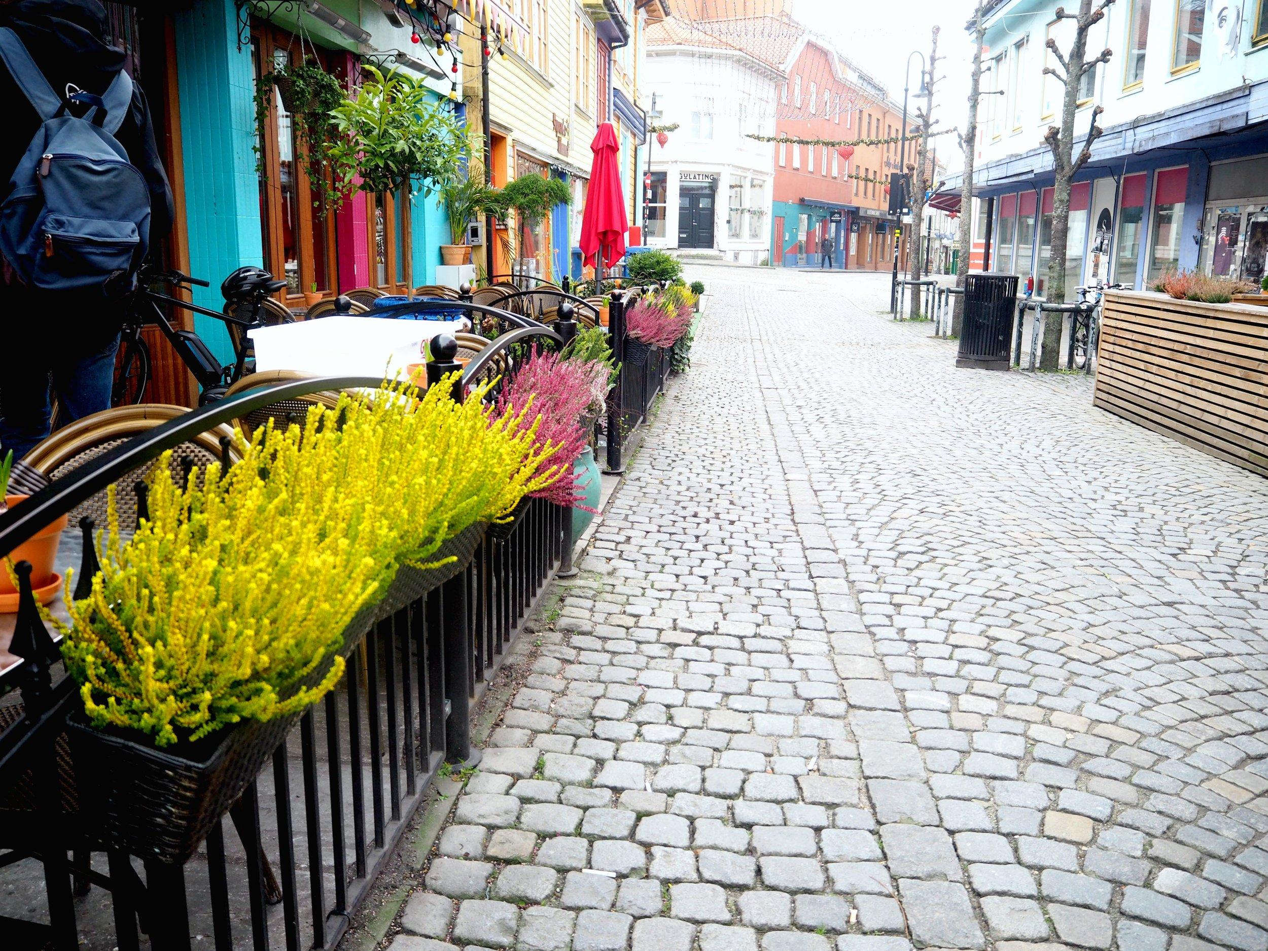 Stavanger by, fargegaten