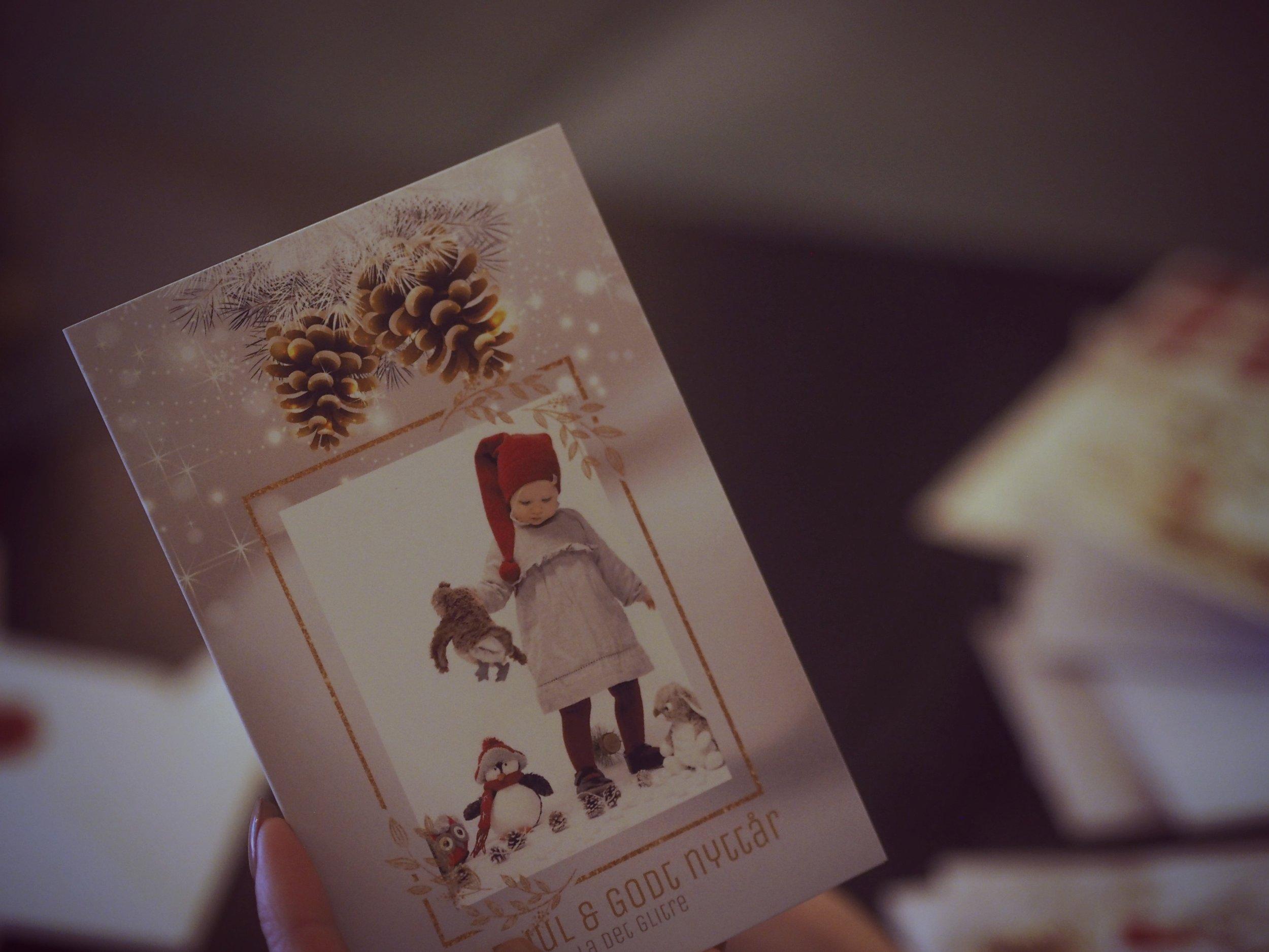 personlige julekort fra fotoknudsen