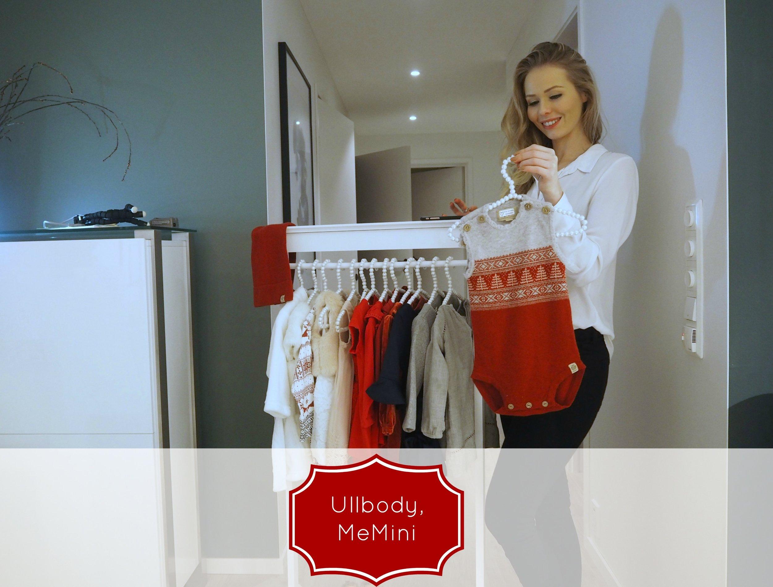 a babygirls outfit for christmas / en pikes julegarderobe. Ullbody fra Memini