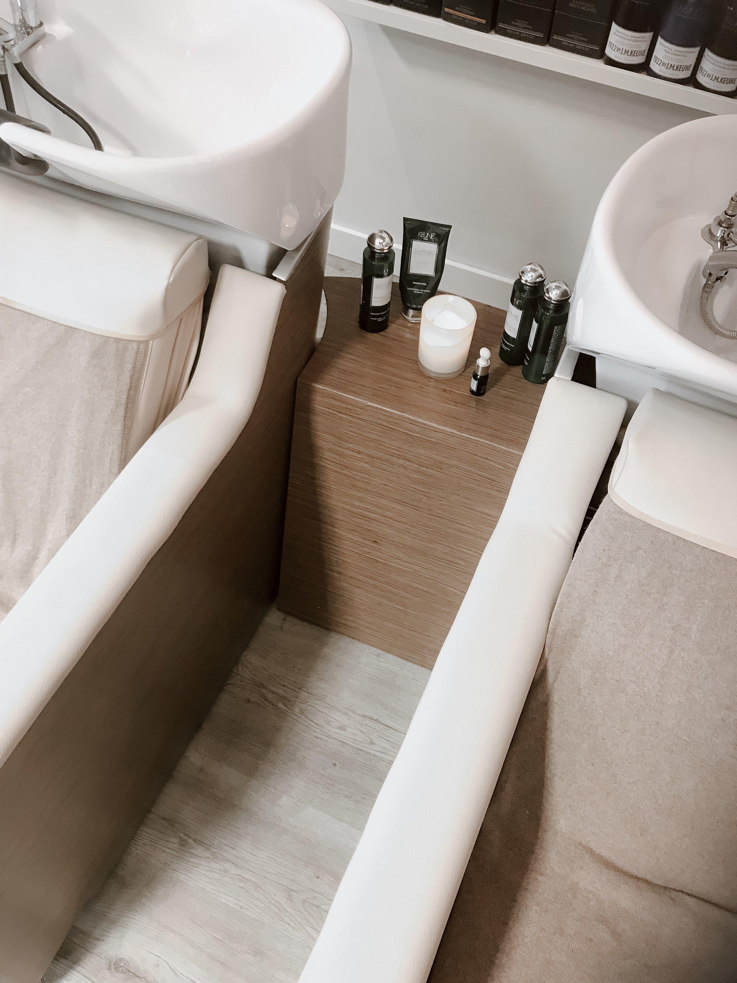 Vaskestoler med massasje på stinas friøsrverden