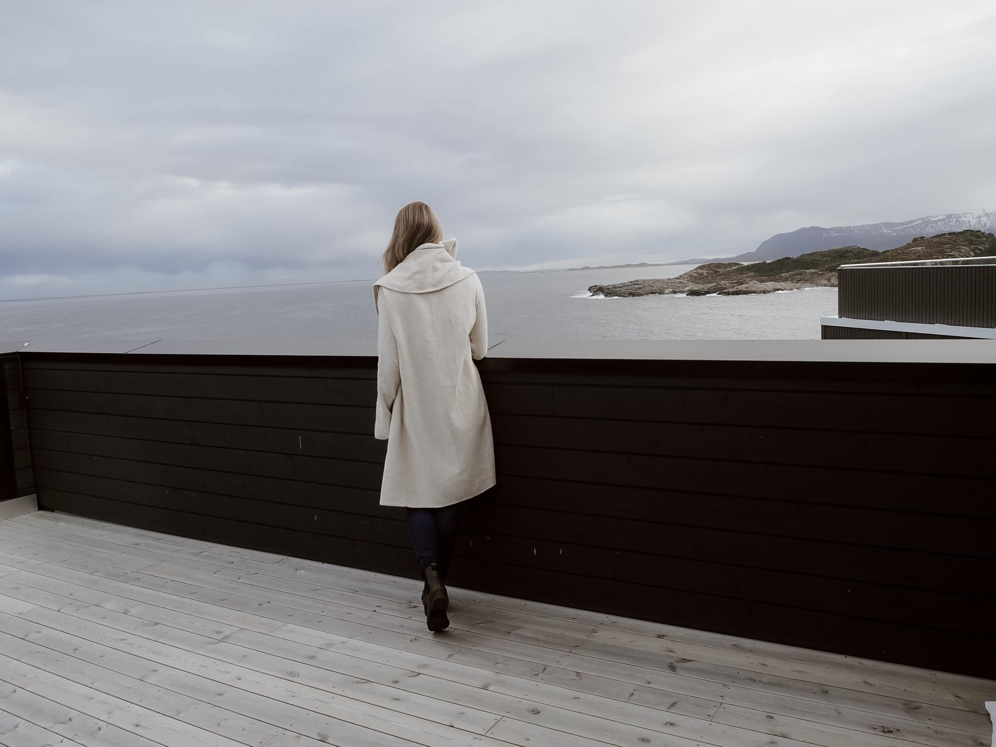 antrekksbilder på terassen, dalabukta Klar for Opera i Kristiansund, Rigoletto