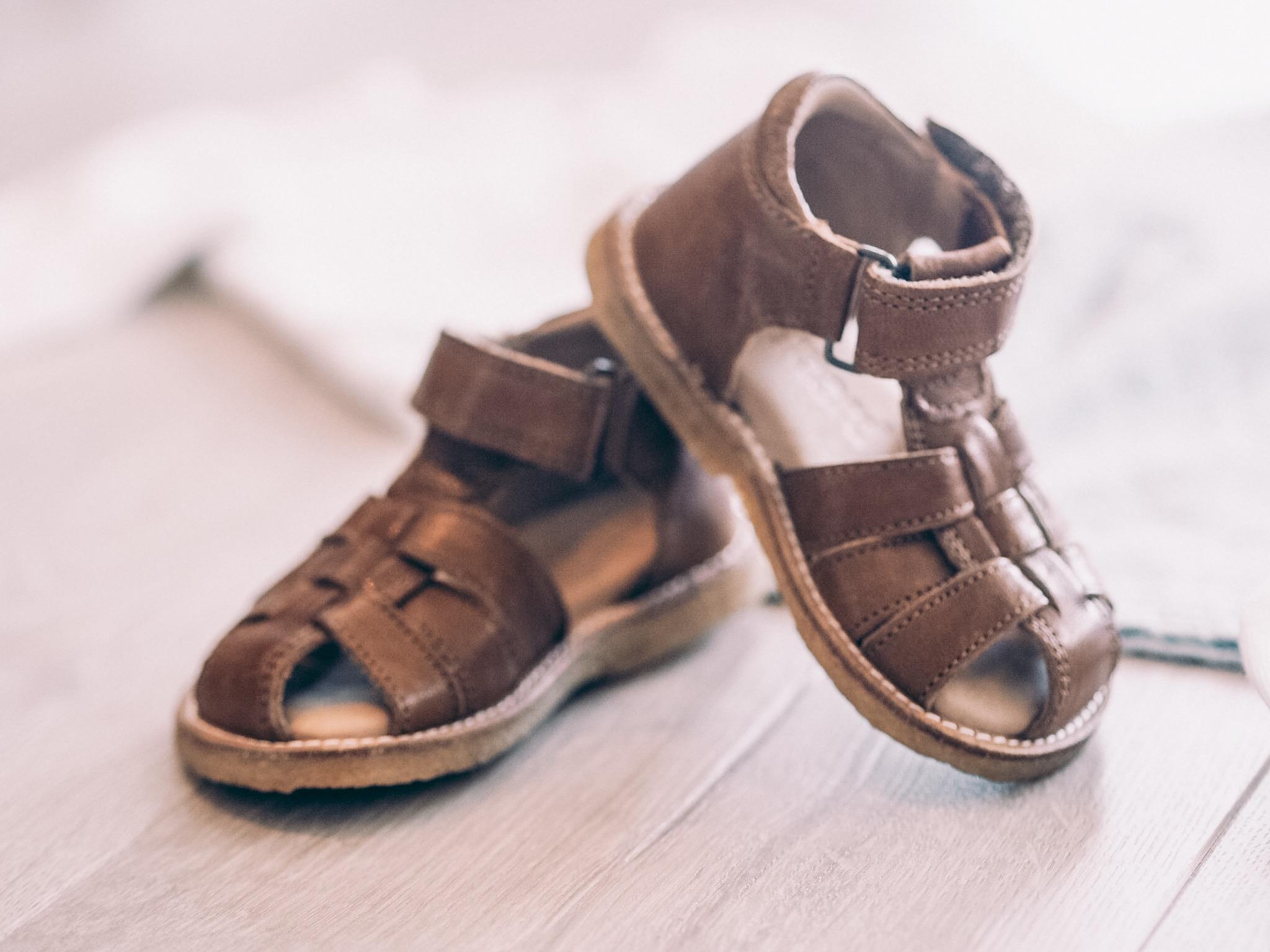 sandaler Bisgaard i Cognac