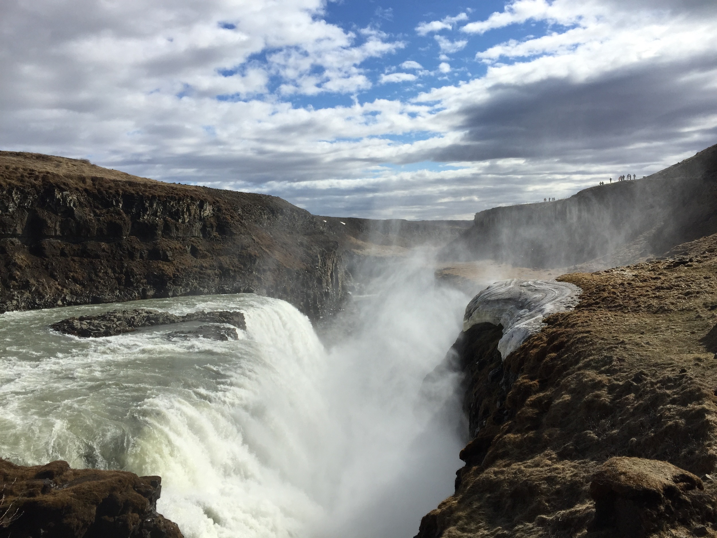 Gullfoss Waterfall on the Golden Circle