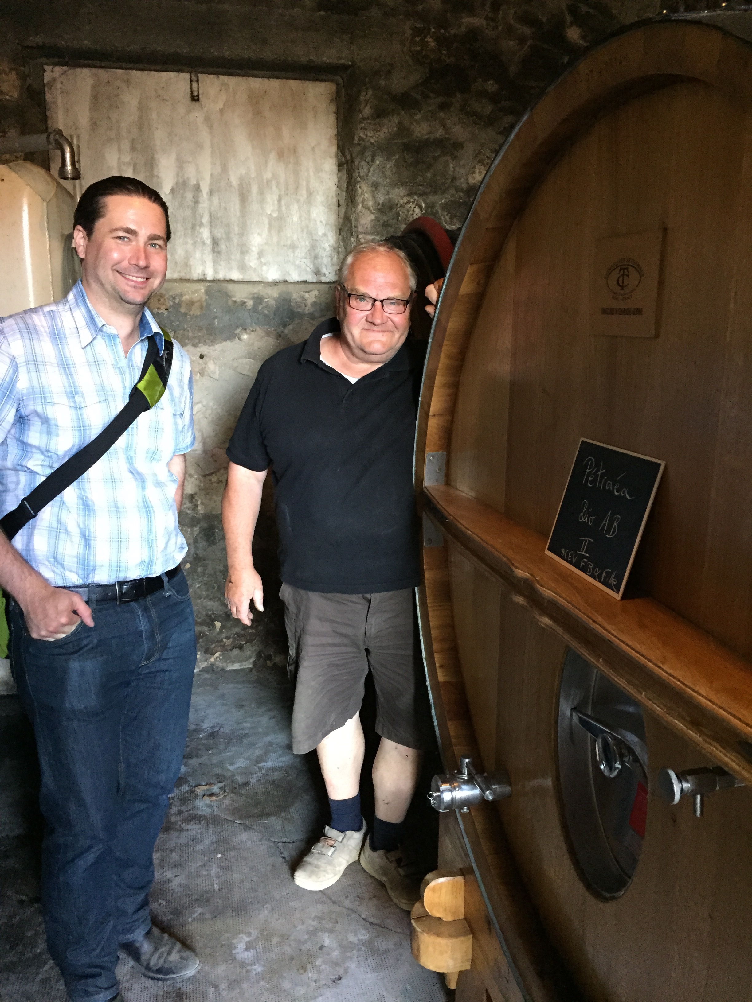 Francis and I with the kickstarter foudre