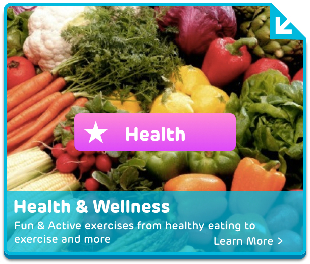 Digital health and wellness activities