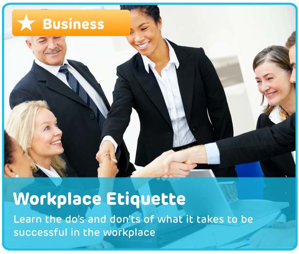 Workplace Etiquette Digital Activity