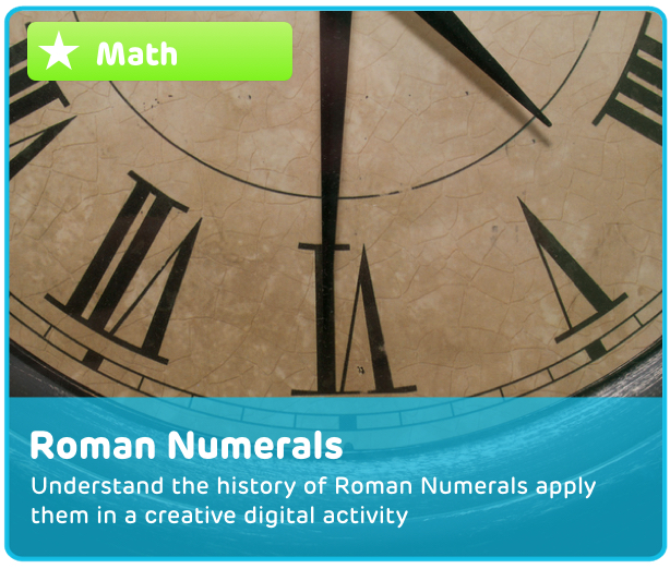 Roman Numerals Digital Activity