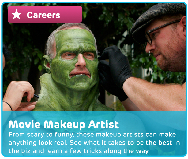 Career: Movie Makeup Artist Digital Activity