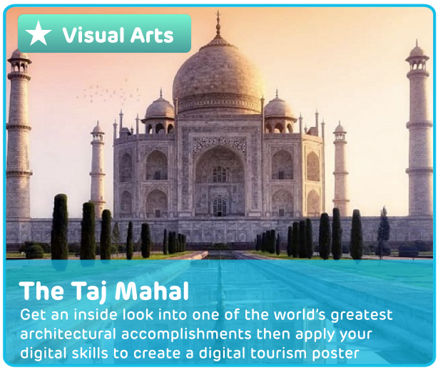 The Taj Mahal Digital Learning Activity