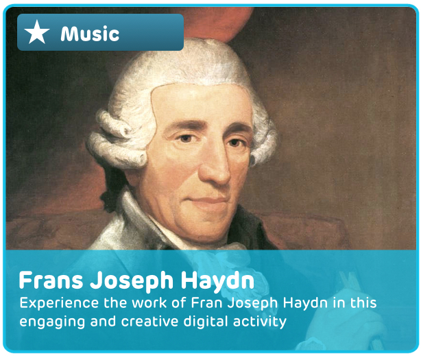 Frans Joseph Haydn Digital Activity