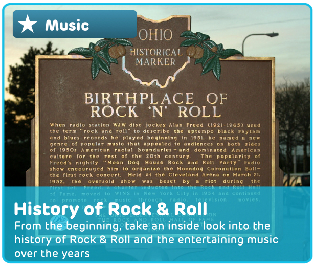 Rock & Roll Music Digital Activity
