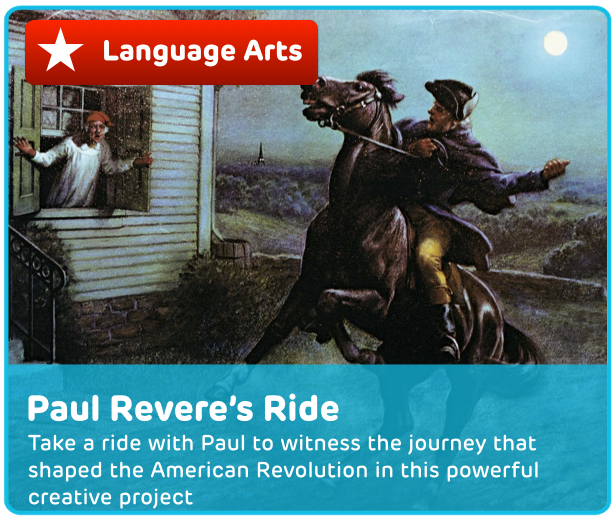 Paul Revere's Ride Digital Activity