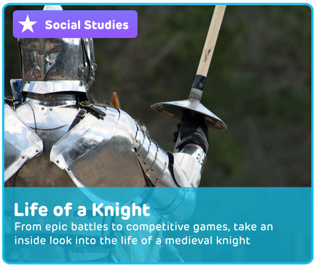 Medieval Knights Digital Activity