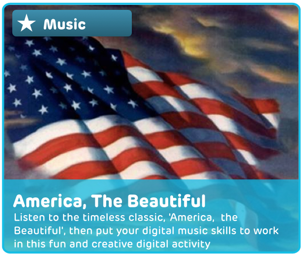 'America, the Beautiful' Digital Activity