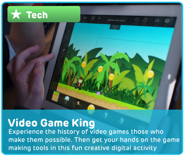 Video Game Digital Learning Activity