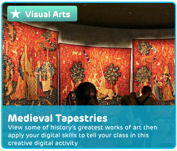 Medieval Tapestries Digital Activity