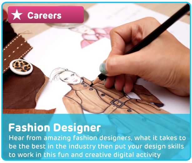 Career: Fashion Designer Digital Activity