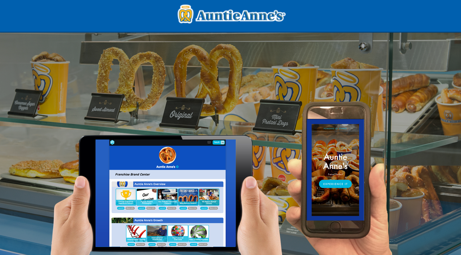 """""""Auntie"""" Anne and Jonas Beiler bought a stand in a farmer's market and began selling the same Original Pretzel and lemonade that everyone knows and loves today."""