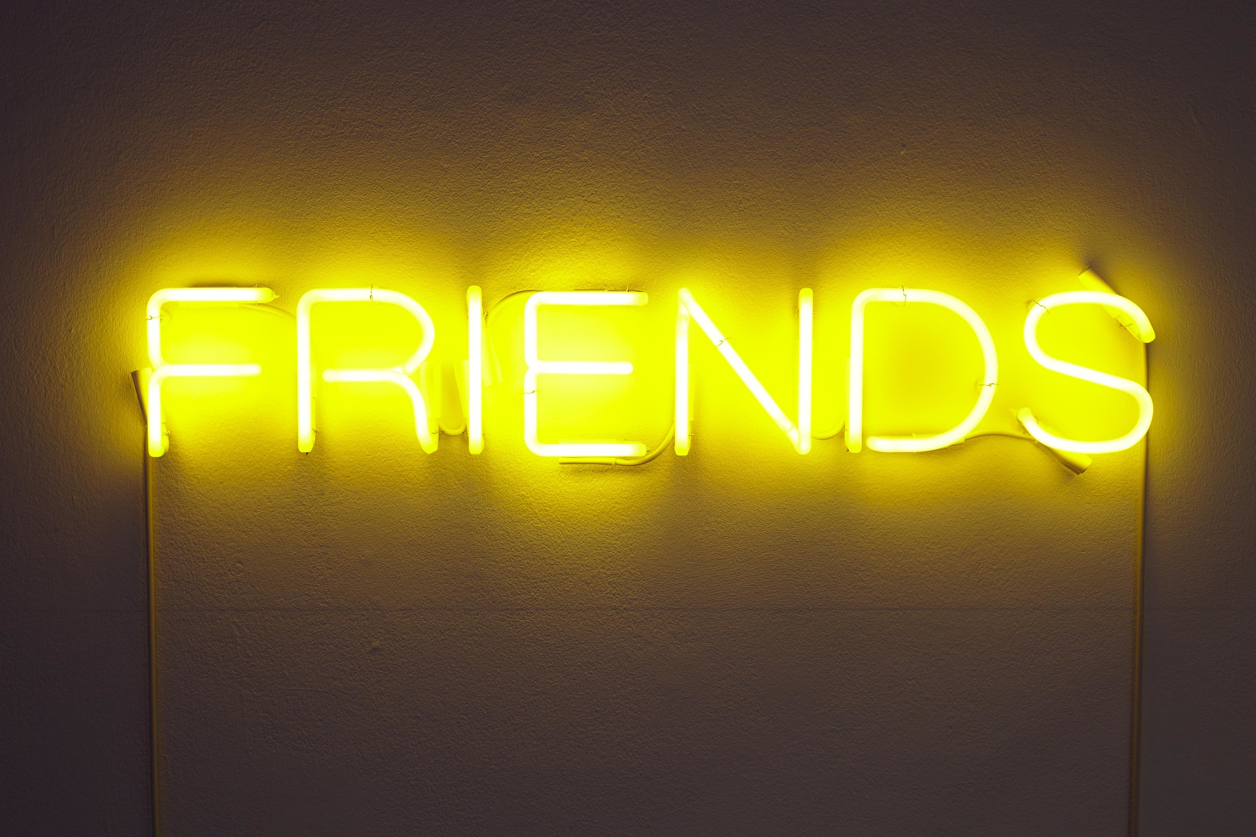 Martin Creed, Work No.671 FRIENDS, 2007 © Courtesy the artist and Hauser & Wirth. Photo: Stuart Whipps