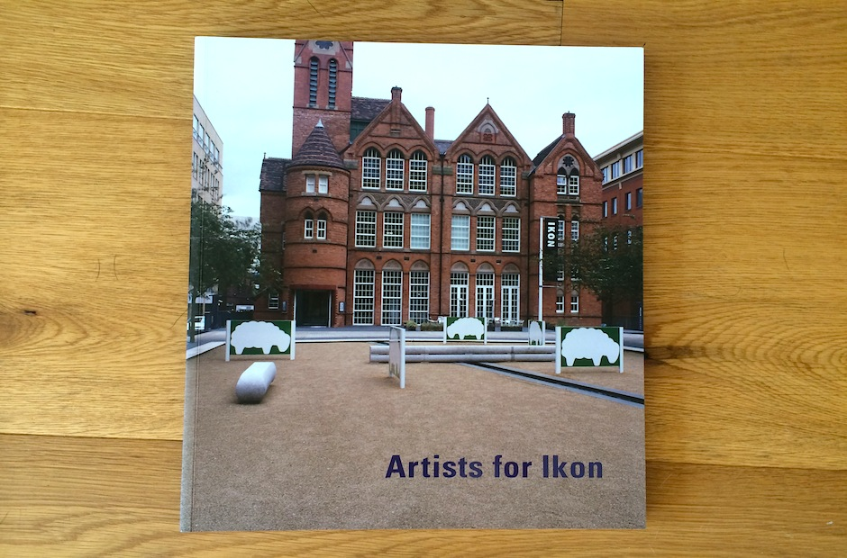 Artists for Ikon 50th Anniversary publication, published by Ikon