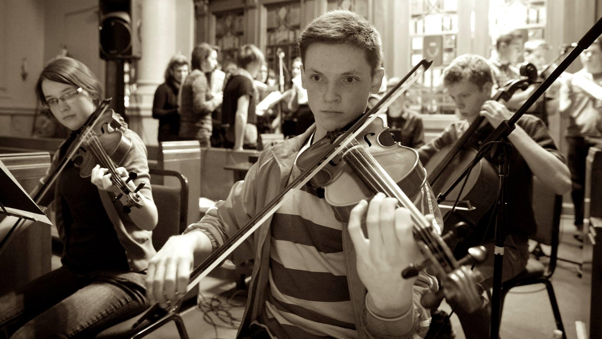 James - violin