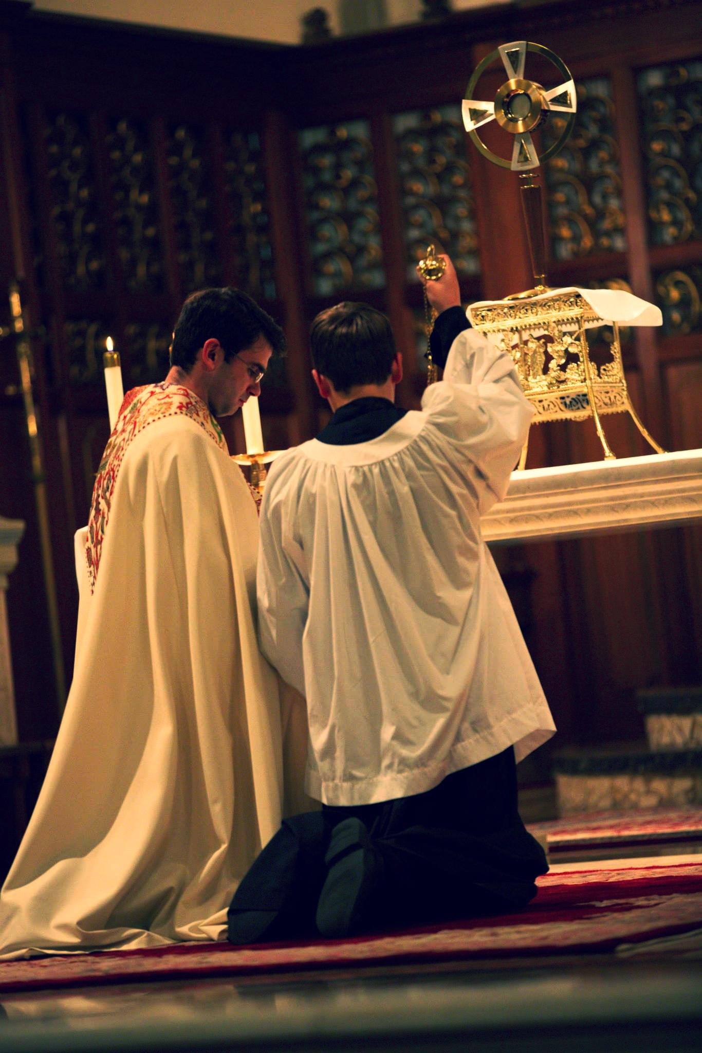Fr. Shell and Jacob