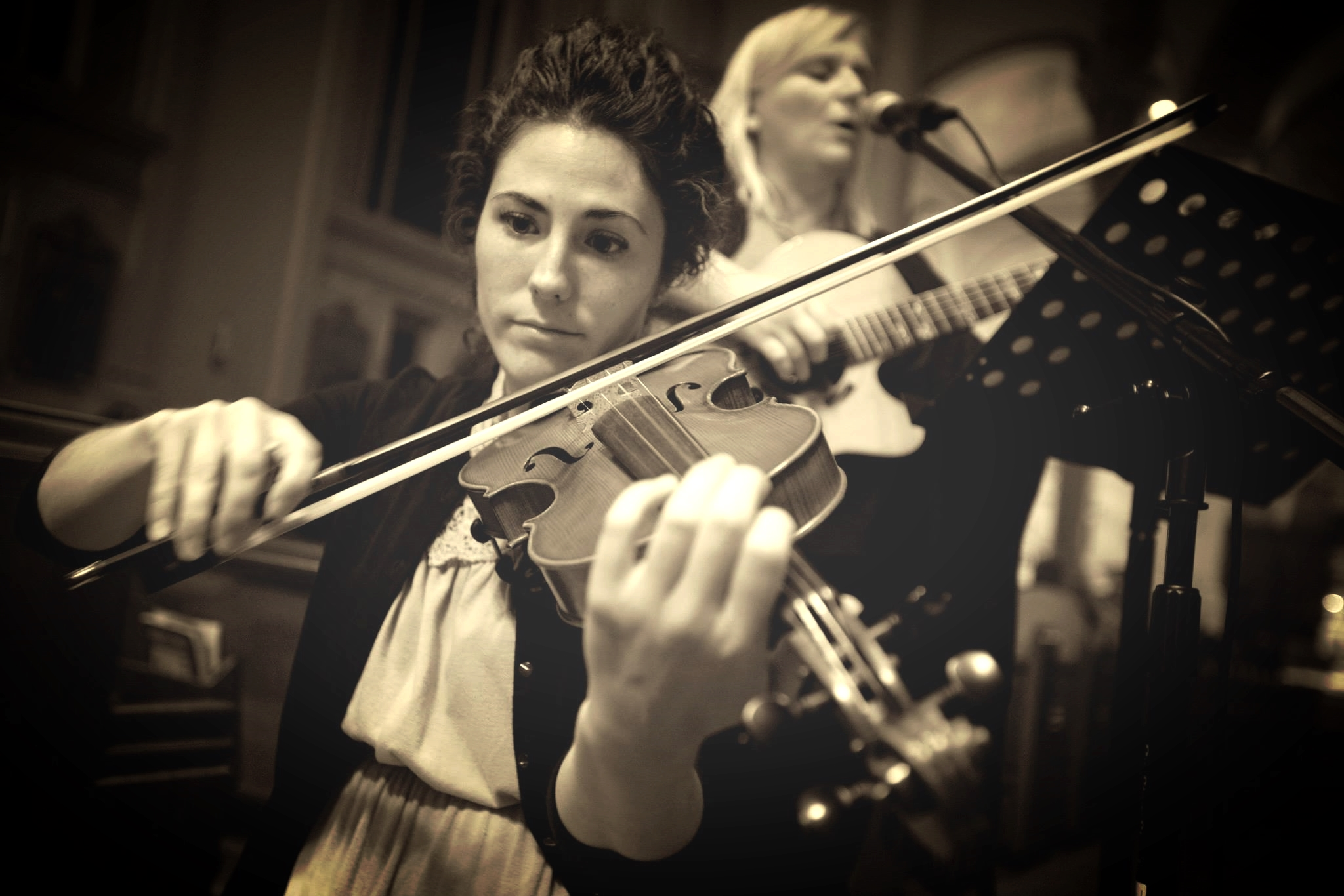Karen - guest violinist