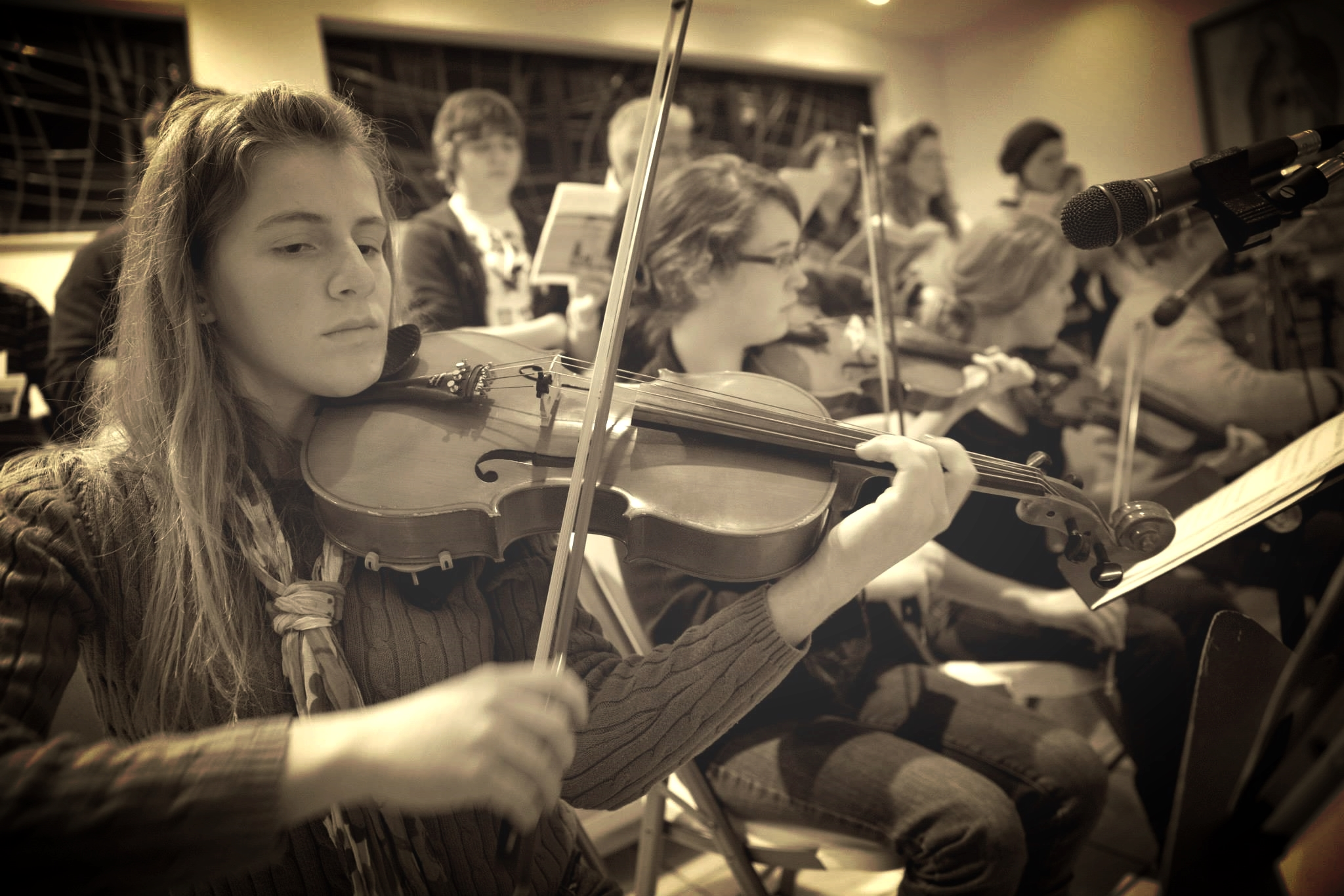 Jacinta - viola; plays for Pittsburgh Youth Symphony Orchestra