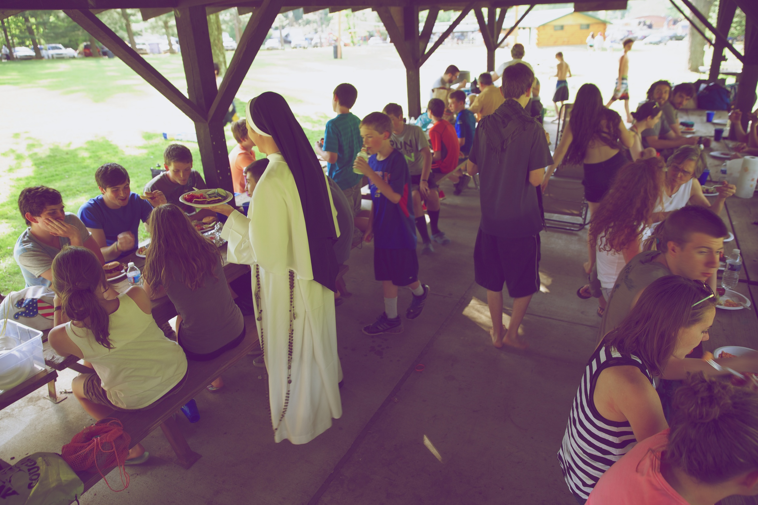 long rosary.