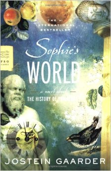 3.  Sophie's World  . A novel about the history of philosophy. Jostein Gaarder.