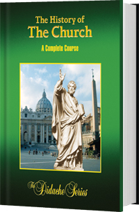 1.  The History of the Church. A Complete Course.  Didache Series.  Buy new or  rent from Amazon for $25   2.  Workbook