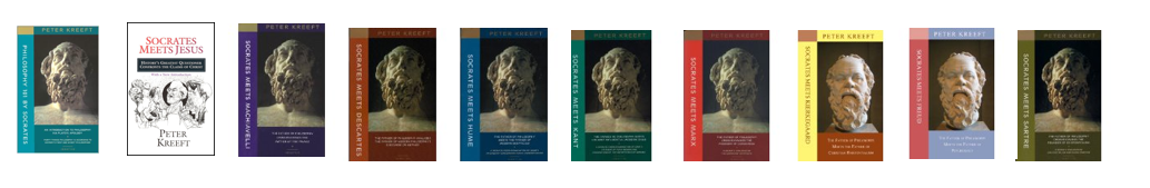 5. Extra Reading, not required.   Peter Kreeft's series    Philosophy 101 by Socrates (this book is included in parallel  Spiritual Reading  course)    Socrates Meets Jesus    Socrates Meets Machiavelli    Socrates Meets Descartes    Socrates Meets Hume    Socrates Meets Kant    Socrates Meets Marx    Socrates Meets Kirkegaard    Socrates Meets Freud    Socrates Meets Sartre
