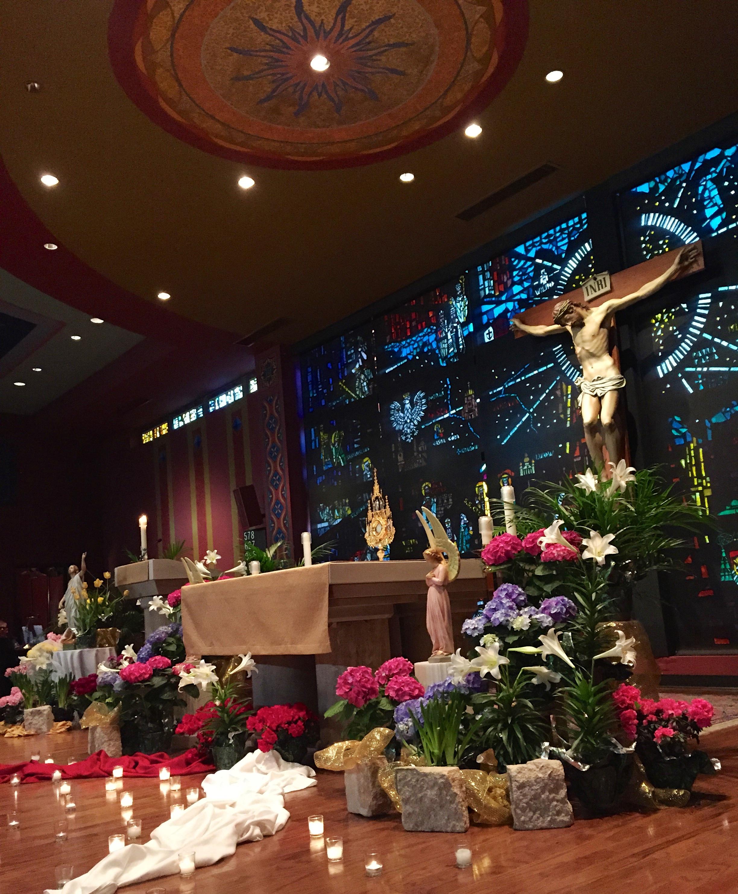 Eucharistic Adoration, Divine Mercy