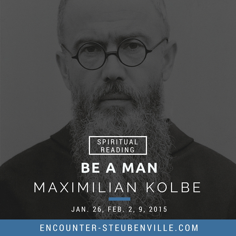 1.  The Kolbe Reader   2. Cinema Divina:  Life for Life and Edith Stein: the Seventh Chamber  3. Suggested donation: $15