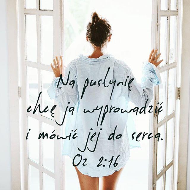 """""""Na pustynię chcę ją wyprowadzić i mówić jej do serca. I będzie Mi tam uległa jak za dni swej młodości, gdy wychodziła z egipskiego kraju. I poślubię cię sobie na wieki, poślubię przez sprawiedliwość i prawo, przez miłość i miłosierdzie. Poślubię cię sobie przez wierność, a poznasz Pana."""" Oz 2 #encounter #majorchange #pustynia #ozeasz #serce"""