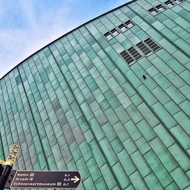 #amsterdam #architecture #nemo