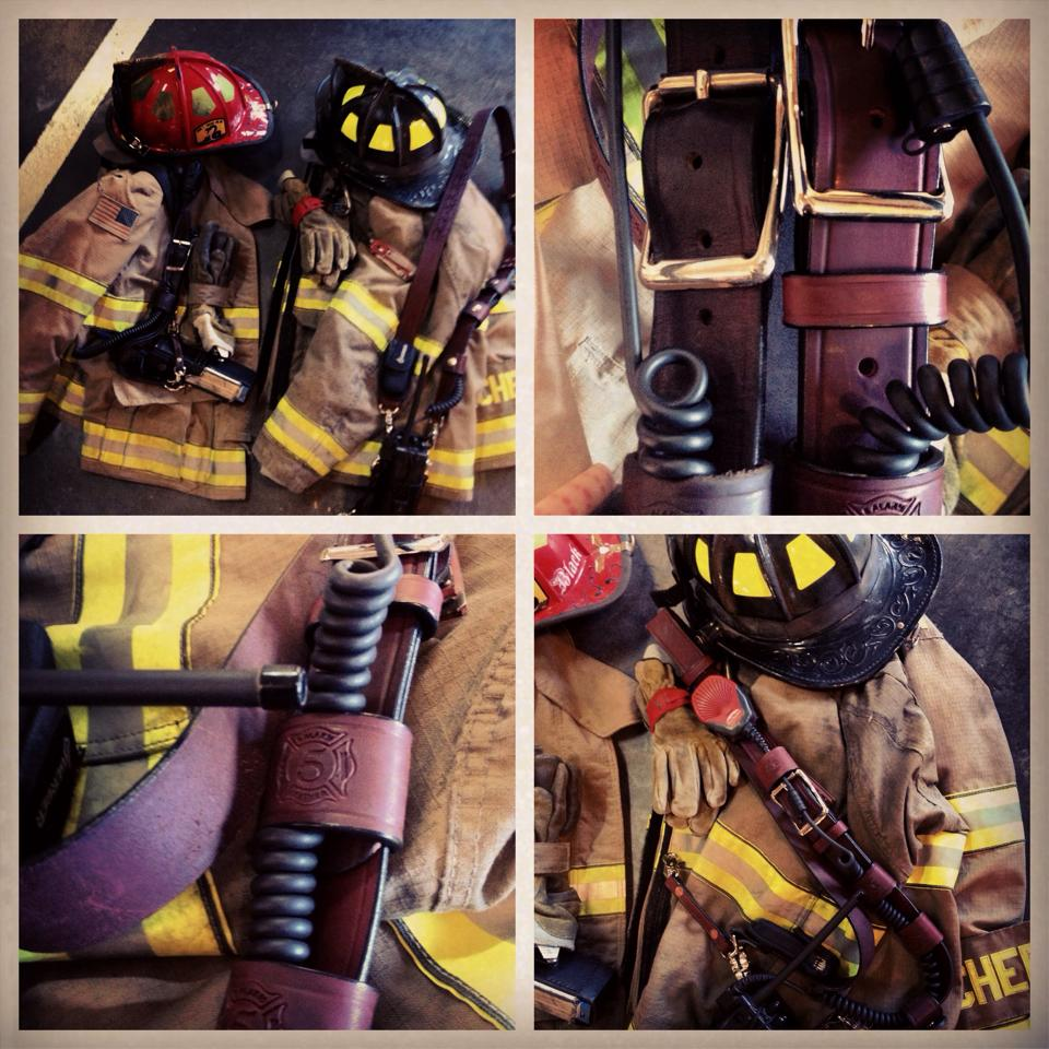 Thanks Greg And 5Alarm leather Love the radio straps     — with   Christof U. Wessbecher   and  5 alarm leather .