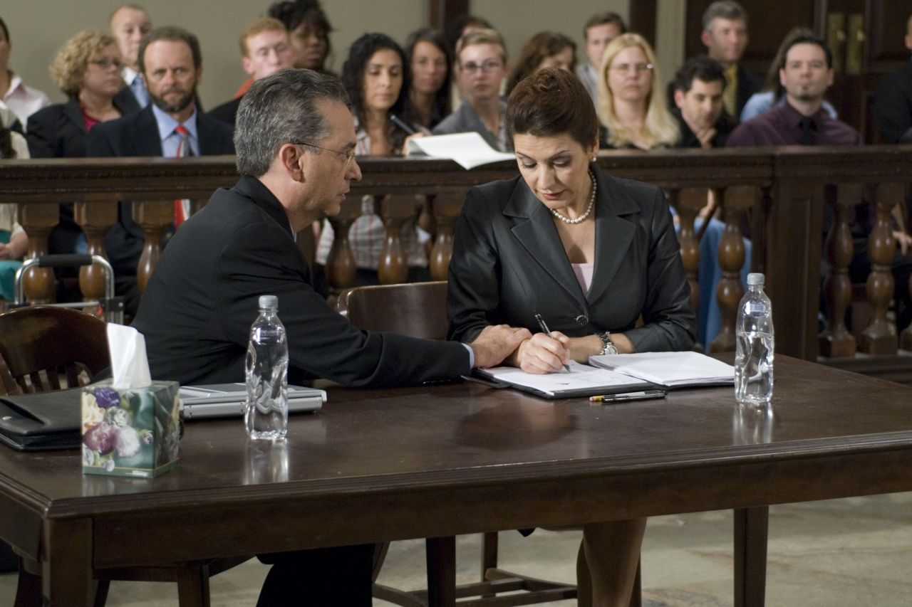 Scene with Marina Sirtis in InAlienable