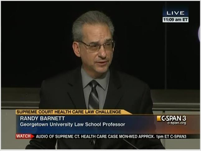 On C-SPAN at the Cato Institute