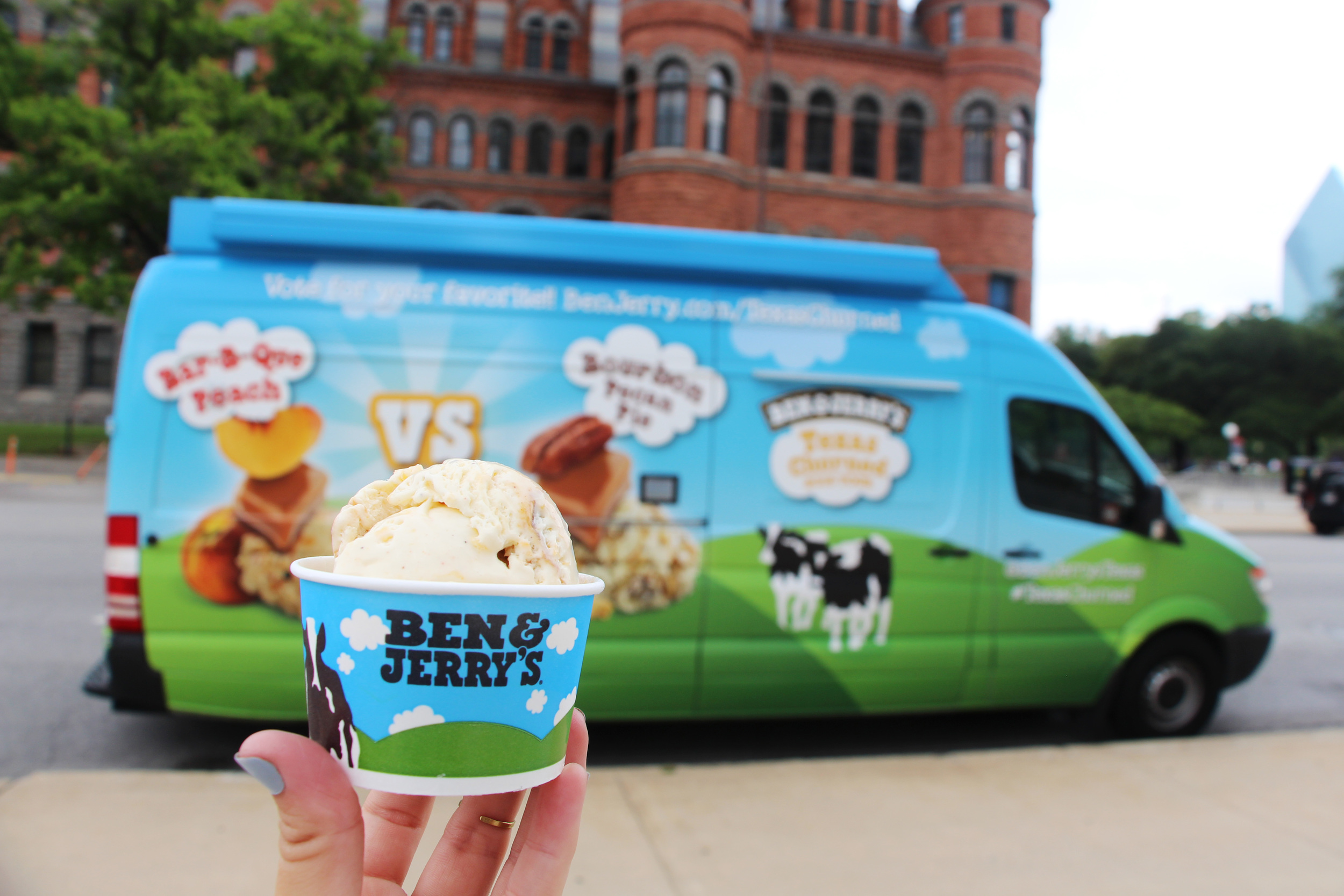 Tweet the truck using hashtag #TexasChurned to sample the dueling flavors.